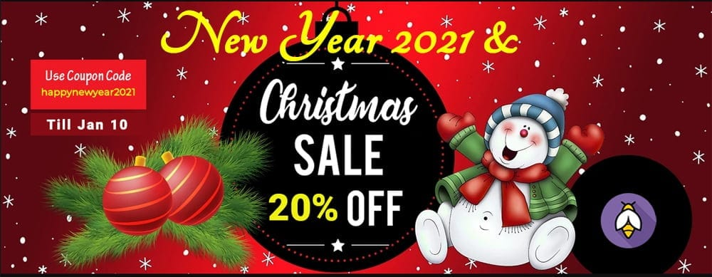 Christmas and New Year Sale 2021